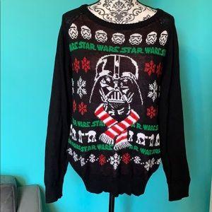 FINAL PRICE Star Wars Darth Vader Ugly Sweater XL